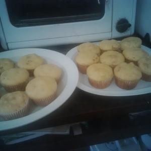 Satu resep jadi 17 pcs muffin ukuran sedang