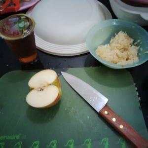 Apel parut kasar